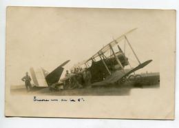 AVIATION NEUSTADT 043  Régim 12 Em RAB CARTE PHOTO Accident Avion De La 5 Em Escadrille - Sin Clasificación