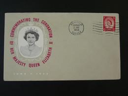 Lettre Commemorative Cover Queen Elizabeth II Coronation 1953 Uckfield Great Britain Ref 101730 - Covers & Documents