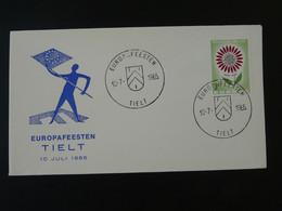 Lettre Cover Fête Européenne Europa 1965 Tielt Belgique Ref 101755 - Briefe U. Dokumente
