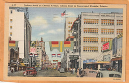 Phoenix Az Coca Cola Advertising Sign Old Postcard - Phoenix
