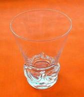 Années 1950  Verre à Eau Cristal Daum France  Modèle Sorcy N°2 - Glass & Crystal
