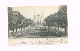 Monte-Carlo.Casino Et Jardins. Expédié à Dijon. - Casino