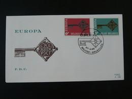 FDC Europa 1968 Belgique Ref 101791 - 1961-70