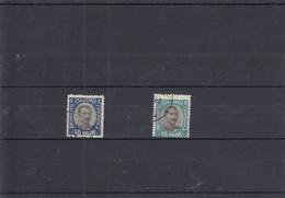 Michel Nr. 36+37 Dienstmarken  König Christian X Im Oval - Used Stamps