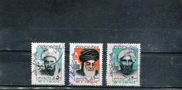 Iran 1984 Yt 1878-1880 Série Courante - Iran