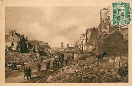 14* CAEN Ruines Rue De Vaucelle WW2     RL,1077 - Oorlog 1939-45