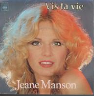 Disque 45 Tours JEANE MANSON - 1979 - CBS 8110 - 2 Titres (NR) - Autres - Musique Française