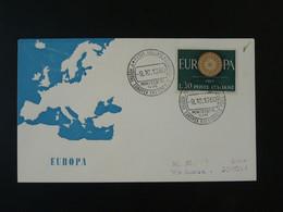 FDC Europa 1960 Italia Ref 101807 - F.D.C.