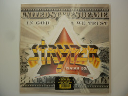 Stryper 33Tours Vinyle Picture Disc In God We Trust + Poster - Unclassified