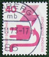 40 Pf Unfallverhütung (I) Mi 699 1971 Used Gebruikt Oblitere Germany BRD Allemange - Gebraucht