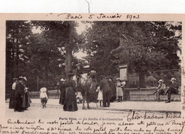 "PARIS Vécu "" Au Jardin D'acclimatation"" - Sonstige"