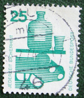 25 Pf Unfallverhütung (I) Mi 697 1971 Used Gebruikt Oblitere Germany BRD Allemange - Gebraucht