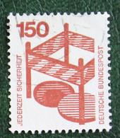 150 Pf Unfallverhütung (I) Mi 703 1971 Used Gebruikt Oblitere Germany BRD Allemange - Gebraucht