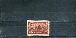 Iran 1962 Yt 1011 Série Courante - Iran