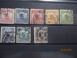 CHINE CHINA : Lot Oblitéré1913/1919 - 1912-1949 Republic