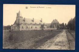 Roumont ( Ochamps ). Château De Roumont (Famille Coppée Depuis 1885).  Domaine De Roumont. Le Garage. - Libin