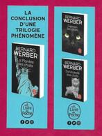 Marque Page.    Bernard Werber.   La Planète Des Chats.   Le Livre De Poche.   Chat.    Bookmark. - Bookmarks