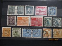 CHINE CHINA :lot Divers De1939 Mh/obl - 1912-1949 Republic