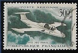 """FRANCE  Poste Aérienne: Prototypes: Morane-saulnier""""760""""  N°35 Année 1957/59 - 1927-1959 Afgestempeld"""