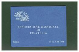 ITALIA - FDC - ESPOSIZIONE MONDIALE FILATELIA - ROMA 1985 - Blokken & Velletjes