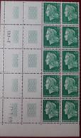 R1337/630 - 1969 - TYPE MARIANNE DE CHEFFER - N°1536A BLOC NEUF** CdF ➤➤➤ CD à Gauche - 1960-1969