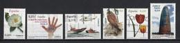 Espagne 2008 : Timbres Yvert & Tellier N° 3989 - 3999 - 4009 - 4012 - 4013 - 4016 - 4017 - 4019 - 4020 Et 4021 Oblit. - 2001-10 Usati