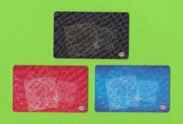 3 Carte Cadeau CORA,  Holographique.    Gift Card.  Geschenkkaart.  Tarjeta Regalo. - Gift Cards