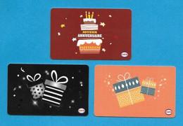 3 Carte Cadeau CORA.    Gift Card.  Geschenkkaart.  Tarjeta Regalo. - Gift Cards