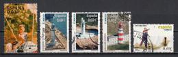 Espagne 2008 : Timbres Yvert & Tellier N° 4048 - 4050 - 4051 - 4053 - 4071 - 4072 Et 4073 Oblitérés. - 2001-10 Usati