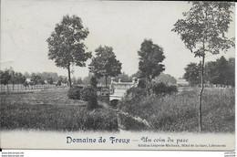FREUX ..-- Un Coin Du Parc . Vers HERMALLE S/ ARGENTEAU ( Melle Berthe VANDRESSE ) . Voir Verso . - Libramont-Chevigny