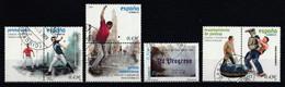 Espagne 2008 : Timbres Yvert & Tellier N° 4020 - 4021 - 4025 - 4026 - 4027 - 4028 - 4029 - 4037 Et 4038 Oblitérés. - 2001-10 Usati