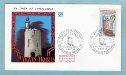 FDC France 1968 - Libération Des Prisonnières Huguenotes De La Tour De Constance - YT 1566 - 30 Aigues Mortes - 1960-1969