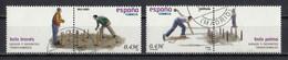 Espagne 2008 : Timbres Yvert & Tellier N° 4033 - 4034 - 4035 - 4043 - 4044 - 4045 - 4046 - 4047 Et 4048 Oblitérés. - 2001-10 Usati