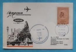 Persia Iran First Flight Cover FFC To Bombay India 1967 - Iran