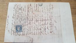 LOT561314 TIMBRE DE FRANCE OBLITERE SUR COURRIER N°4 - 1849-1850 Ceres