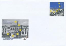 GERMANY Mi. Nr. USo 134  17. Int. Briefmarkenmesse Essen - 2007  - - Umschläge - Ungebraucht
