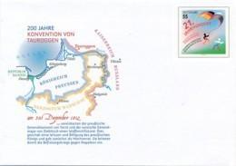 GERMANY Mi. Nr. USo 277 - 200 Jahre Konvention Von Tauroggen - Siehe Scan - Umschläge - Ungebraucht