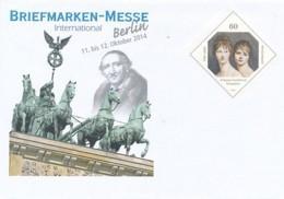 GERMANY Mi. Nr. USo 344 - Intern. Briefmarken-Messe Berlin 2014 - Siehe Scan - Umschläge - Ungebraucht