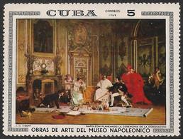 Cuba 1969. Scott #1429 (MNH) Napoleon Planning Coronation Ceremony, By J.G. Vibert - Unused Stamps