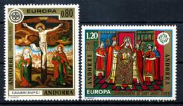 1975 ANDORRA FRANCESE SET MNH ** 243/244 Europa - Ungebraucht