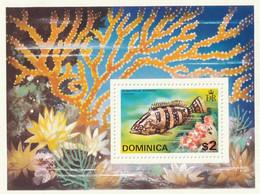 DOMINIQUE - Faune, Poisson Exotique, Coraux - 1975 - MNH - Dominican Republic