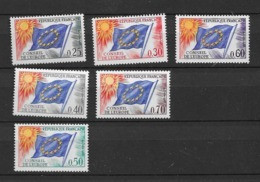 1965-71  MNH European Council, Postfris - Ungebraucht