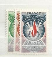 1975 MNH Unesco, Postfris - Ungebraucht