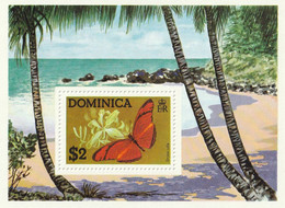 DOMINIQUE - Faune, Papillon : Dryas Julia - BF 31 - MNH - Dominican Republic