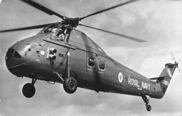 "10167 ""ELICOTTERO - WESTAND WESSEX - ROYAL NAVI"" VEDUTA. CART SPED 1965 - NOTIZIE - Helicópteros"