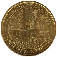 70-1838 - JETON TOURISTIQUE MDP - Luxeuil-les-Bains - Bien-être - 2014.3 - 2014