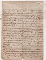 48 LOZERE - 1825 LE BLEYMARD / CONVOCATION CONSEIL DE FAMILLE ETAT DE SANTE DE NOE PEYTAVIN A SAINT JULIEN DU TOURNEL - Manuscripts