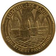 70-1838 - JETON TOURISTIQUE MDP - Luxeuil-les-Bains - Bien-être - 2014.4 - 2014