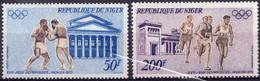 NIGER :1972: Y.LP/PA 187-90*** Postfris/neufs/MNH : OLYMPICS,MUNICH 1972,BOXE, BOXING,TRIPLE SAUT,TRIPLE JUMP,FOOTBALL, - Estate 1972: Monaco
