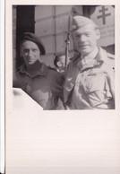Parachutiste - Aviateur - Officier Militaire - WW2 - Croix De Lorraine - Uniformes - Béret - Baïonnette CP Photo TBE - Oorlog 1939-45
